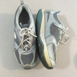 Sketchers | Shape-Ups Blue and Silver Size 8